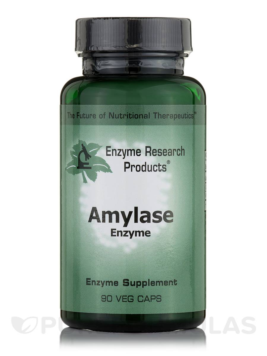 Amylase Enzyme - 90 Capsules