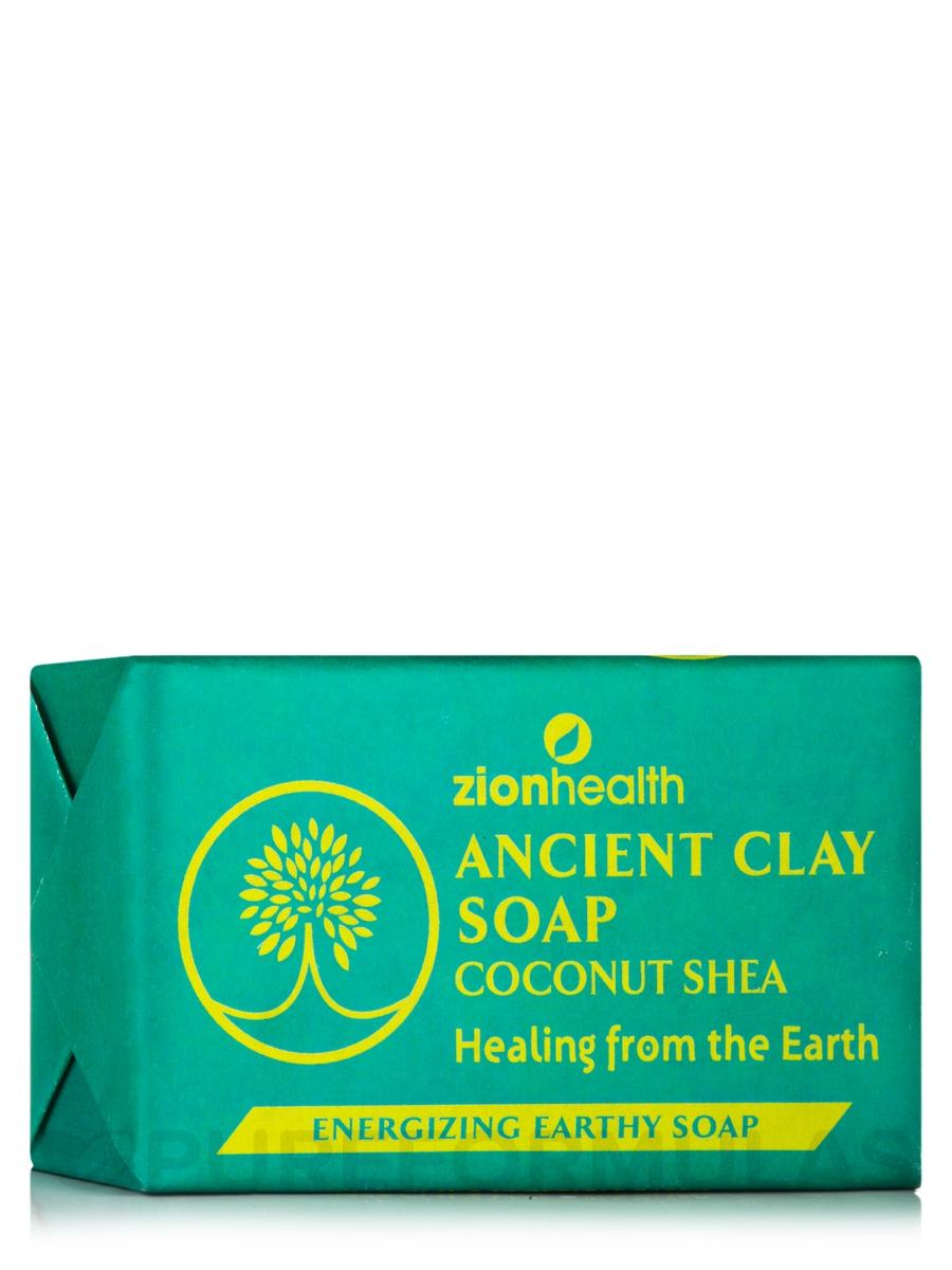 Ancient Clay Soap, Coconut Shea - 6 oz (170 Grams)