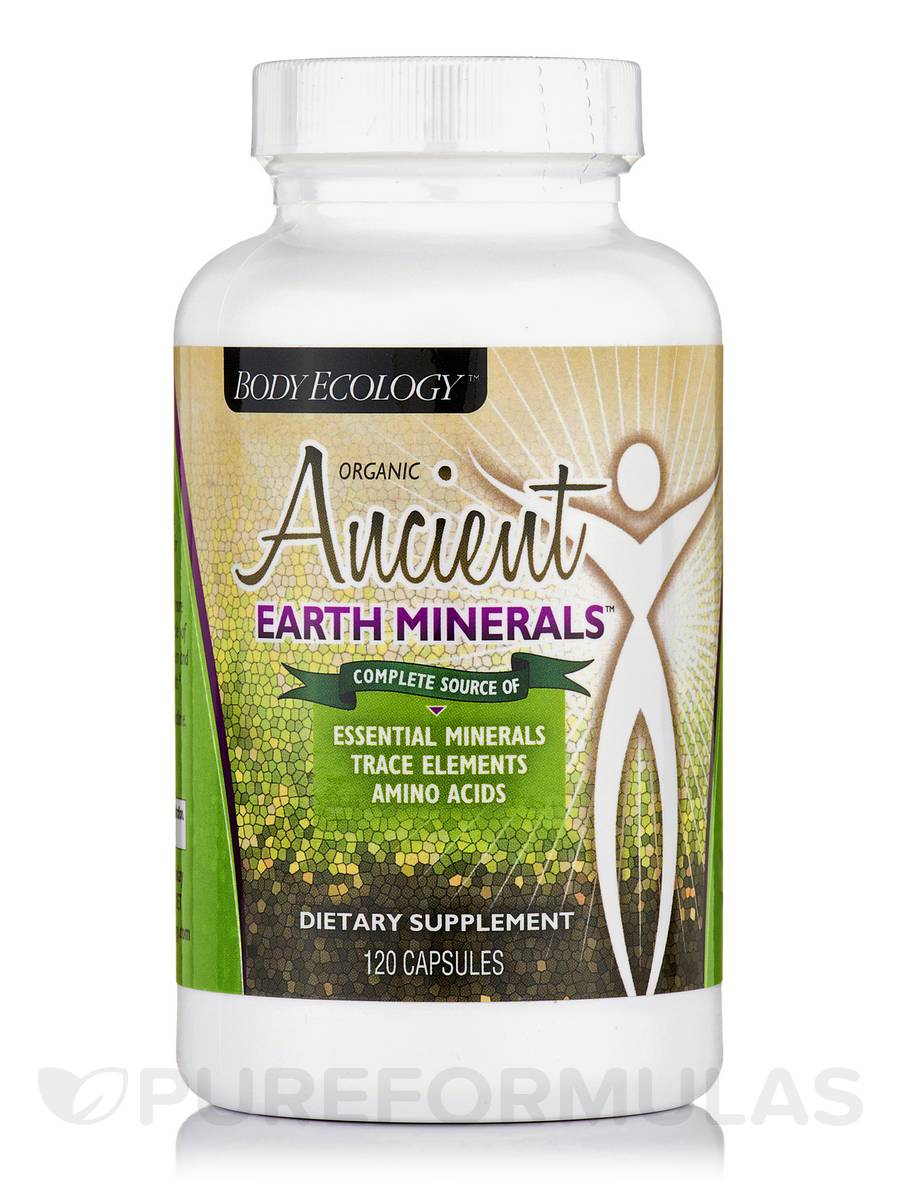 Ancient Earth Minerals™ - 120 Vegetarian Capsules