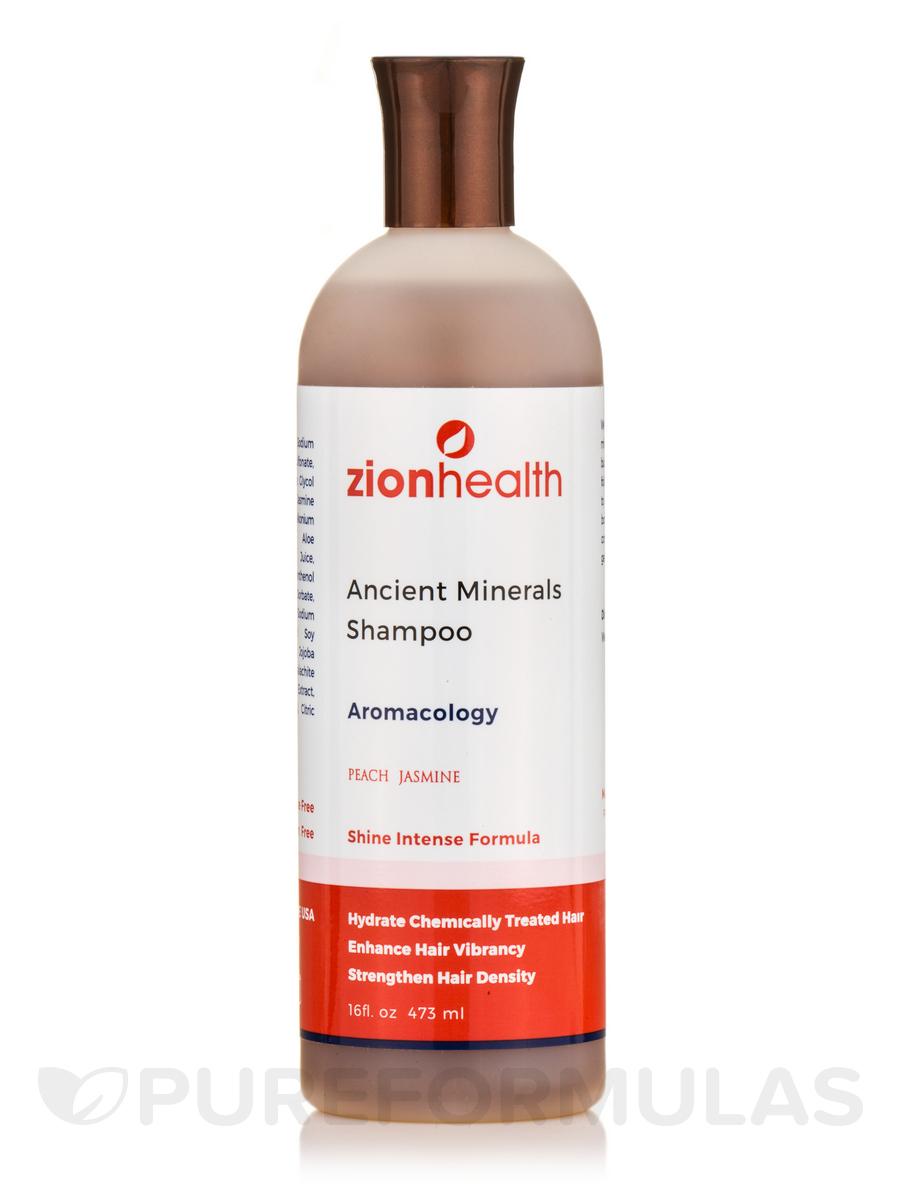 Ancient Minerals Shampoo, Aromacology, Peach Jasmine - 16 fl. oz (473 ml)