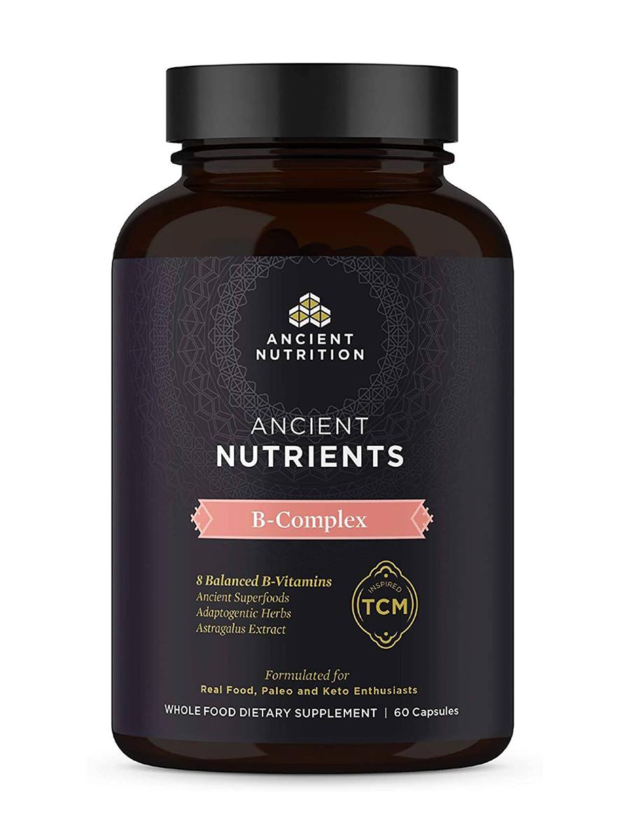 Ancient Nutrients B Complex - 60 Capsules