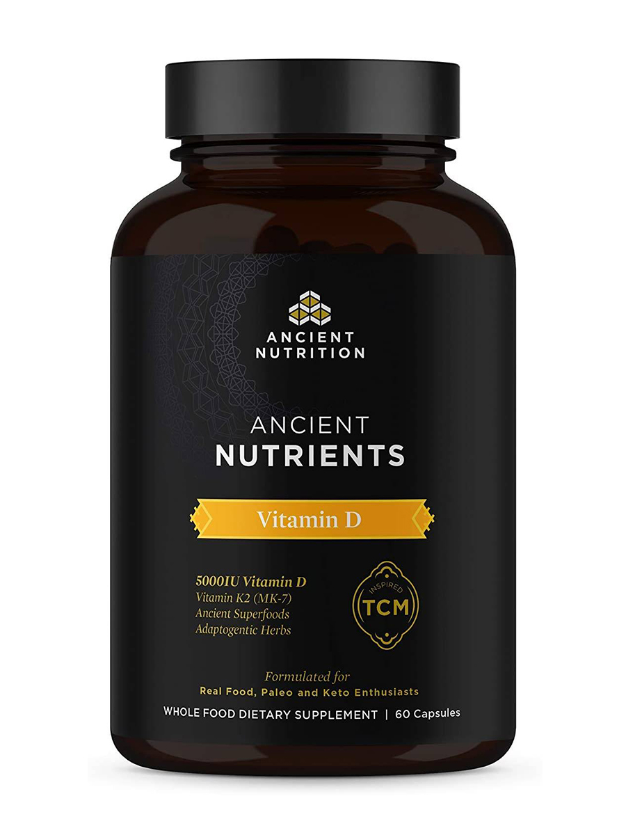 Ancient Nutrients Vitamin D - 60 Capsules