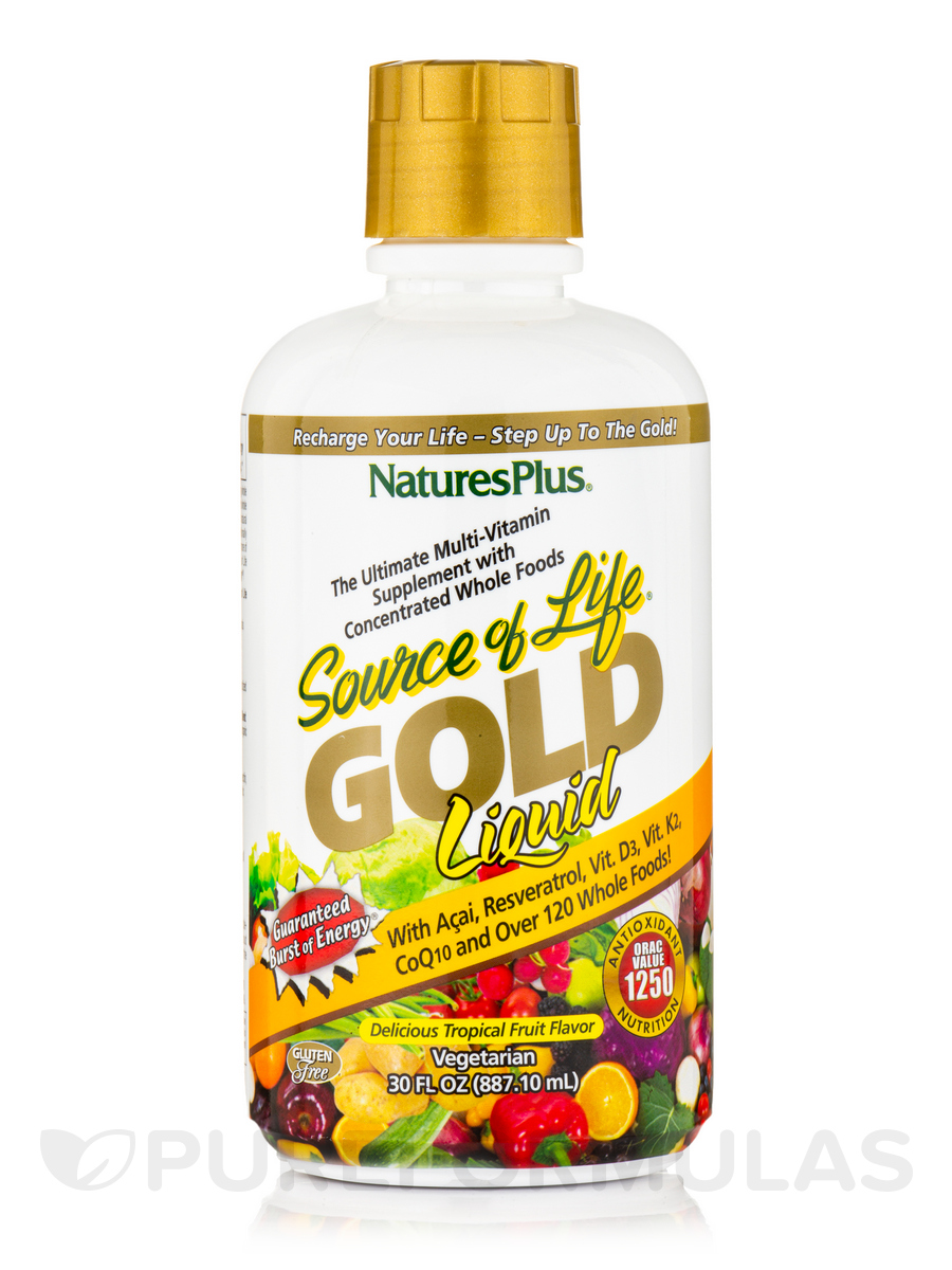 Animal Parade® GOLD Children's Liquid Multivitamin & Mineral Supplement, Tropical Fruit Flavor - 30 fl. oz (887.10 ml)
