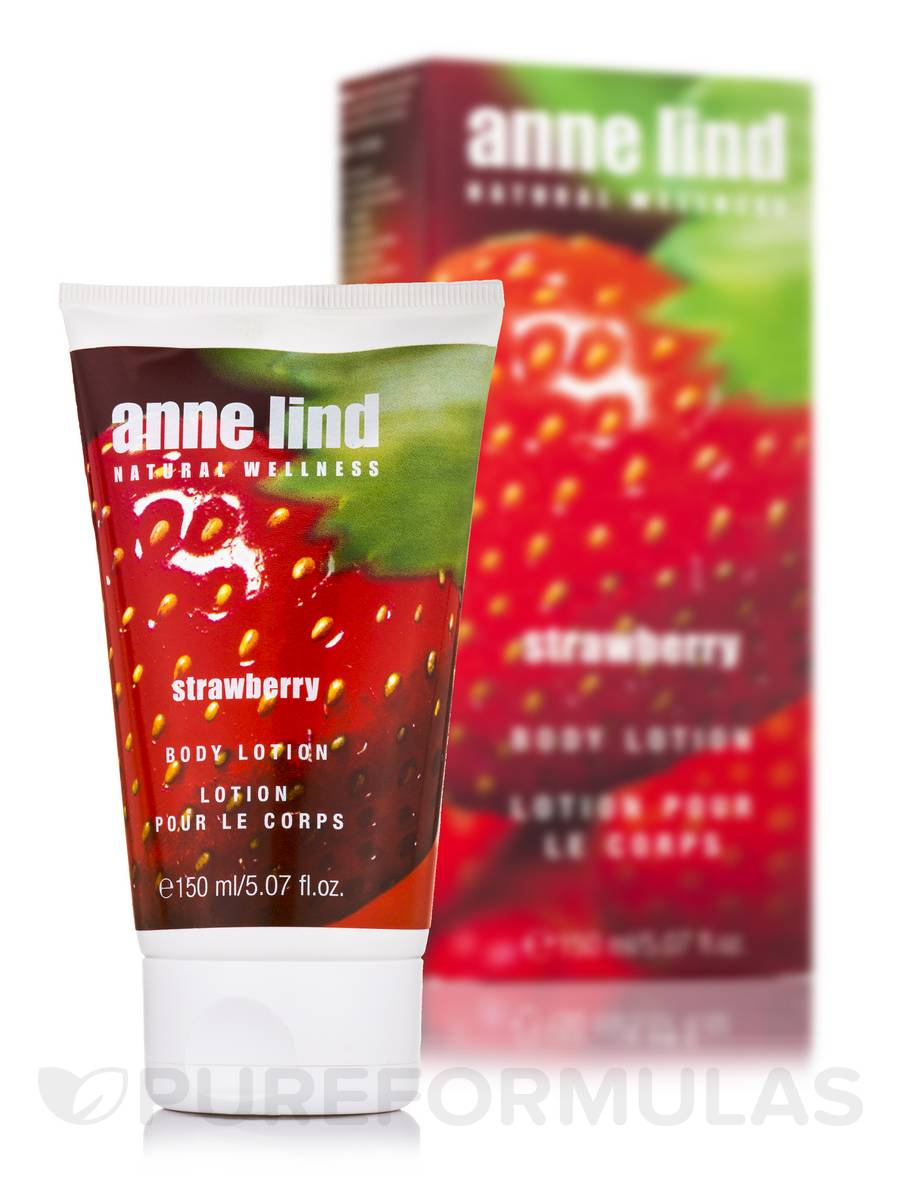 Anne Lind Body Lotion - Strawberry - 5.07 fl. oz (150 ml)