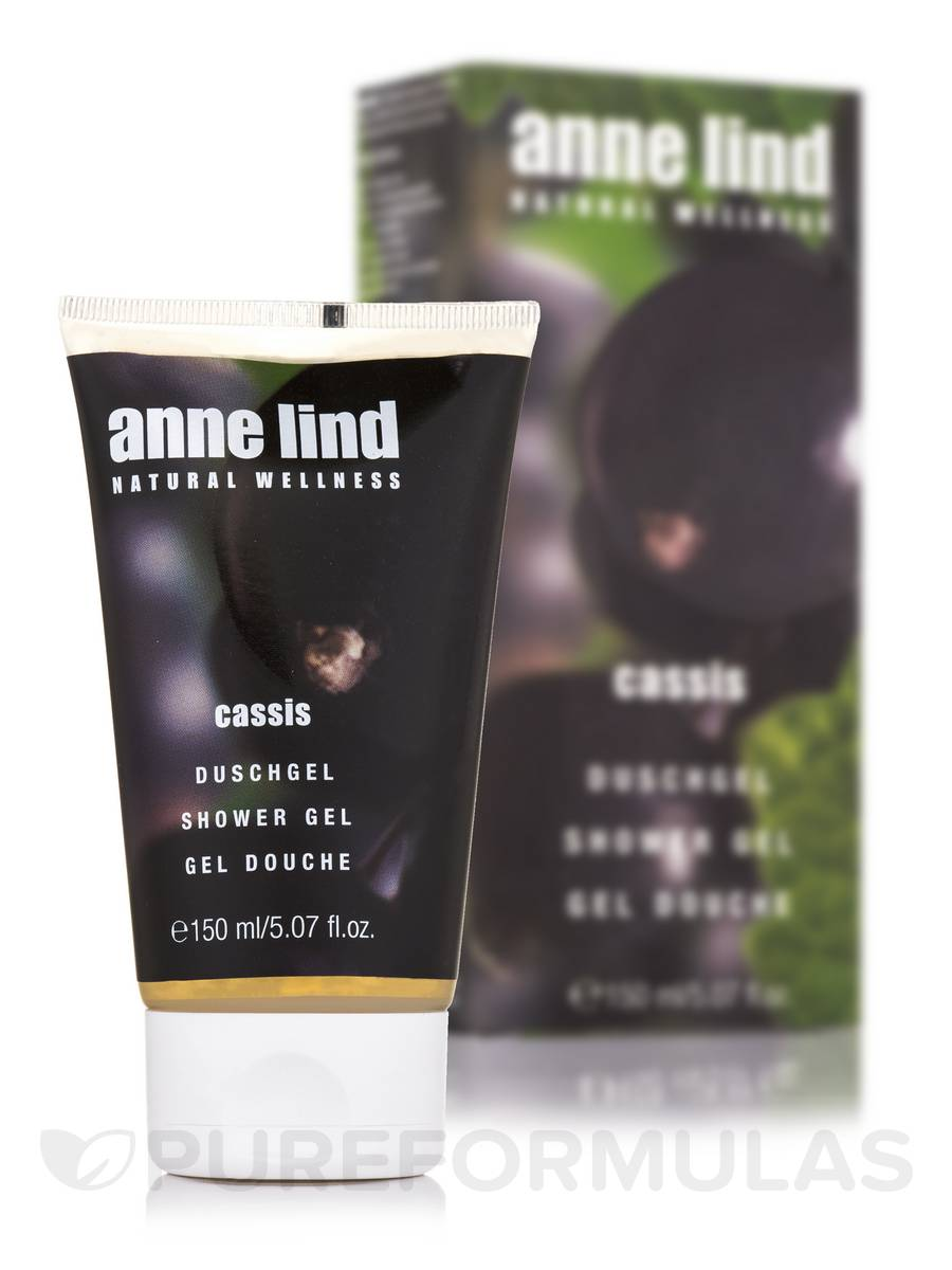 Anne Lind Shower Gel - Cassis - 5.07 fl. oz (150 ml)