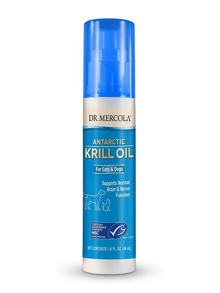 Antarctic Krill Oil for Cats & Dogs - 1.6 fl. oz (48 ml)