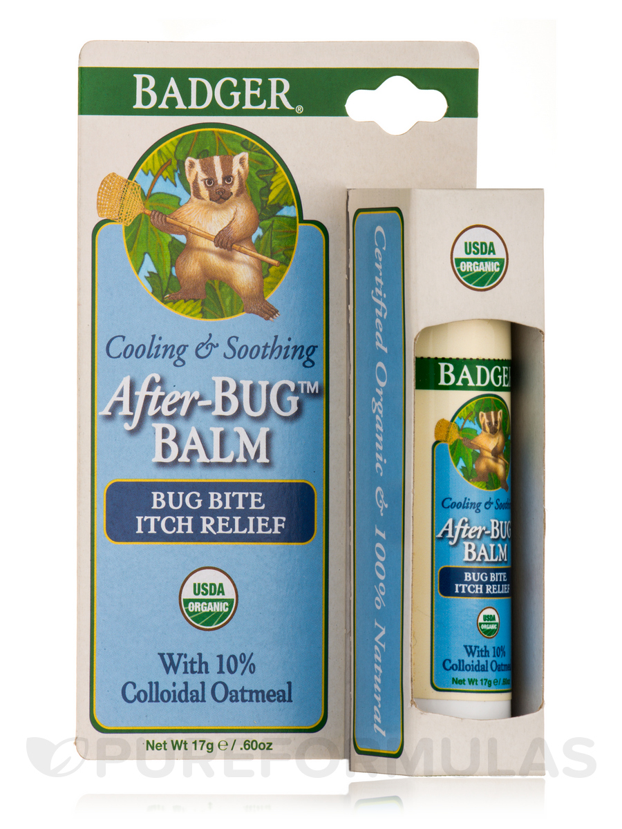 Anti Bug Balm - Bug Bite Relief Stick - 0.6 oz (17 Grams)
