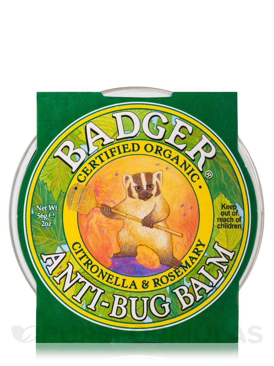 Anti-Bug Balm Tin, Citronella & Rosemary - 2 oz (56 Grams)