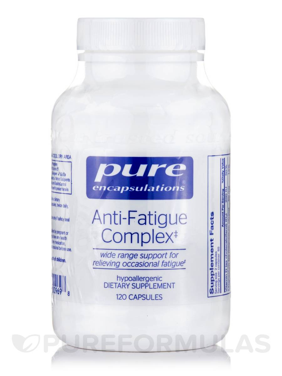 Anti-Fatigue Complex - 120 Vegetable Capsules