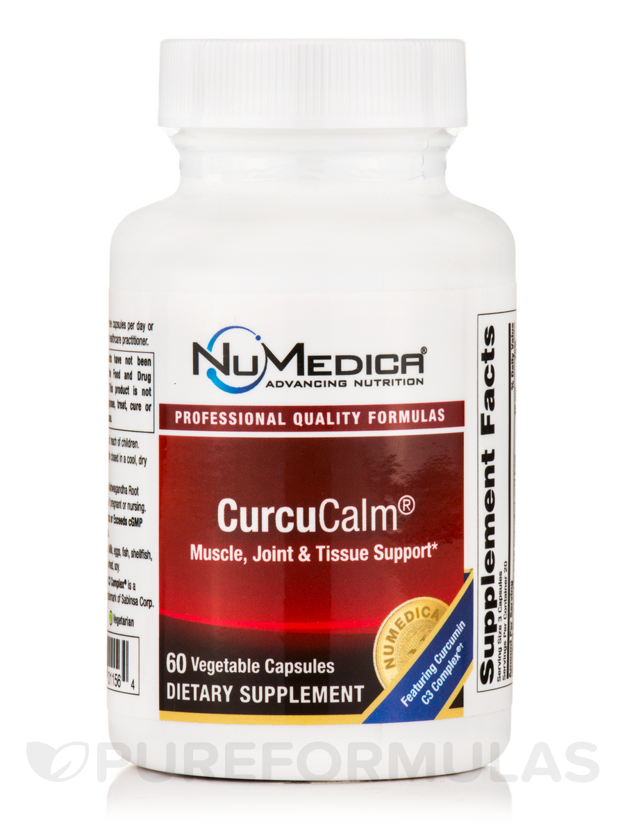 CurcuCalm™ - 60 Vegetable Capsules