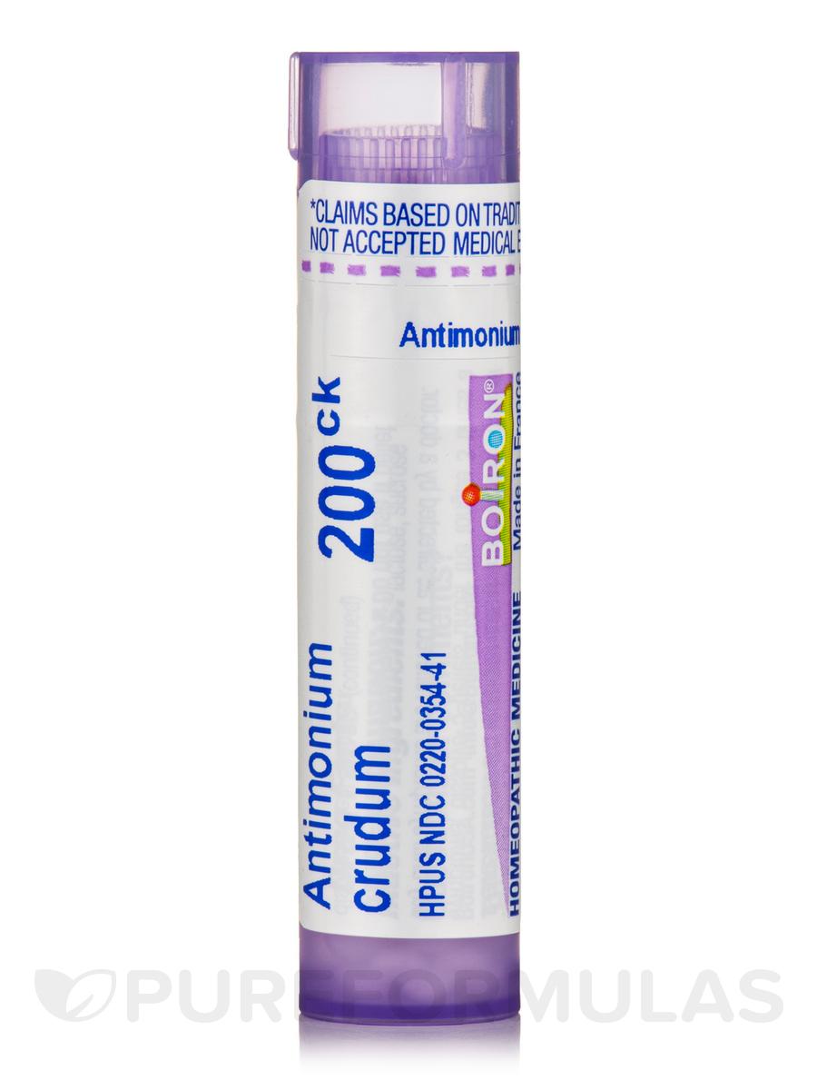 Antimonium Crudum 200ck