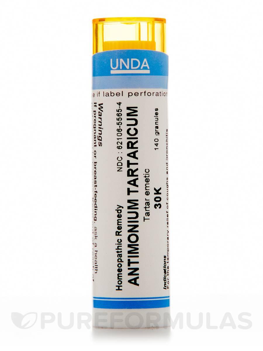Antimonium Tartarticum 30K - 140 Granules (5.5g)