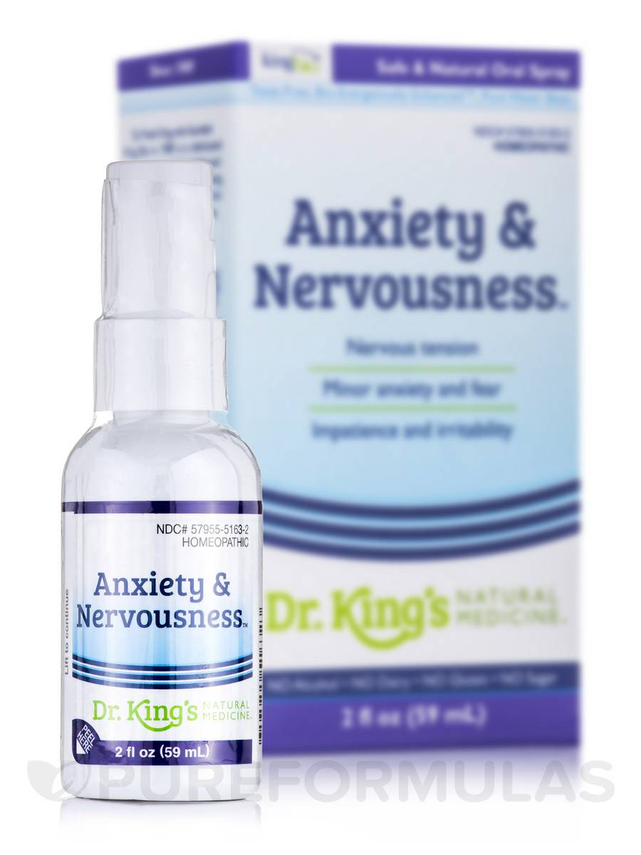 Anxiety and Nervousness - 2 fl. oz (59 ml)