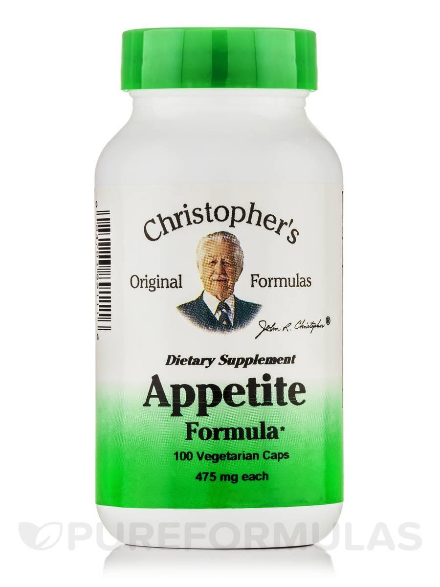 Appetite Formula - 100 Vegetarian Capsules