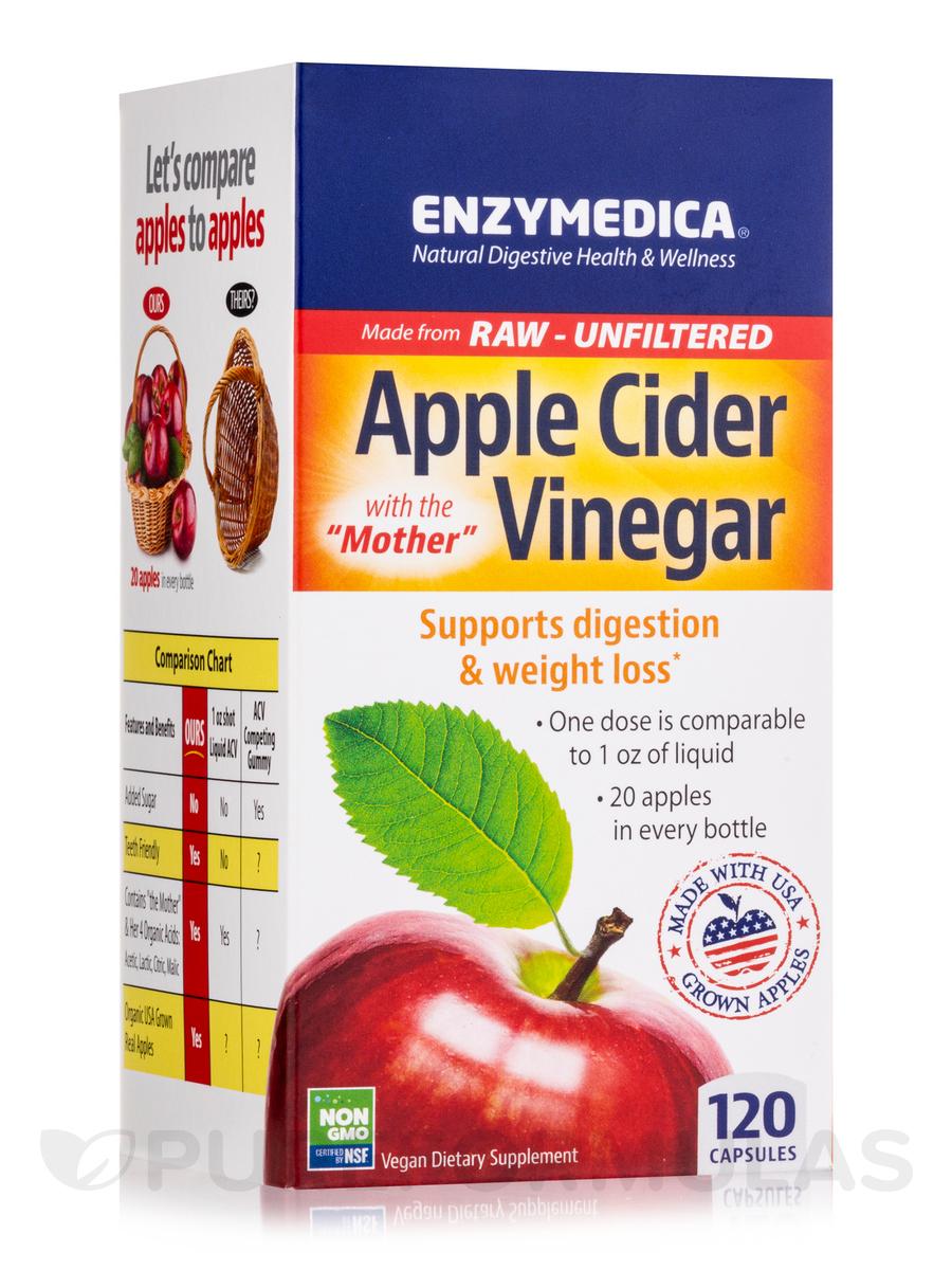 Apple Cider Vinegar - 120 Capsules
