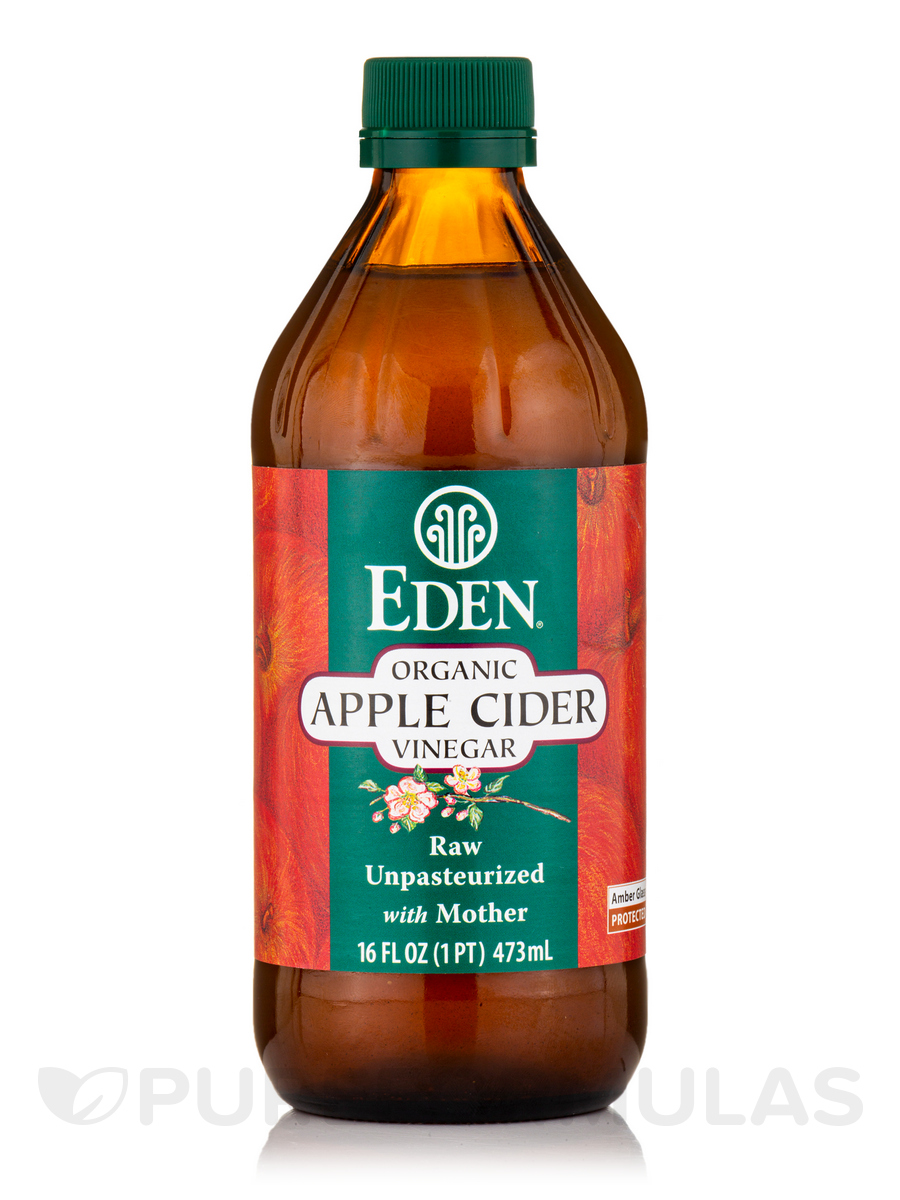 Organic Apple Cider Vinegar (Unpasteurized) - 16 fl. oz (473 ml)