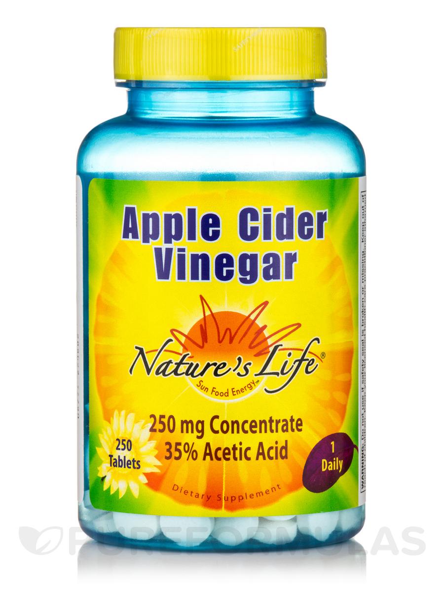 Apple Cider Vinegar 250 mg - 250 Tablets