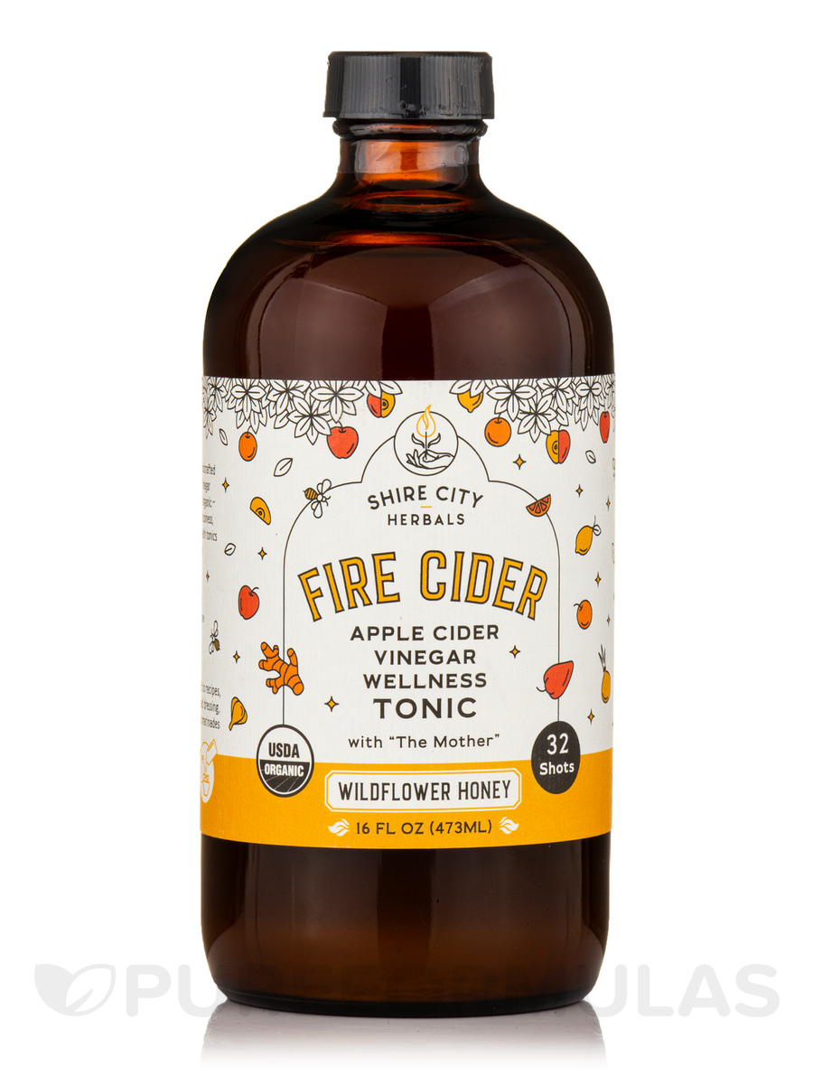 Apple Cider Vinegar and Honey Tonic - 16 fl  oz (473 ml)