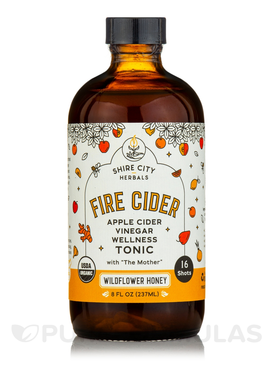 Apple Cider Vinegar and Honey Tonic - 8 fl. oz (237 ml)