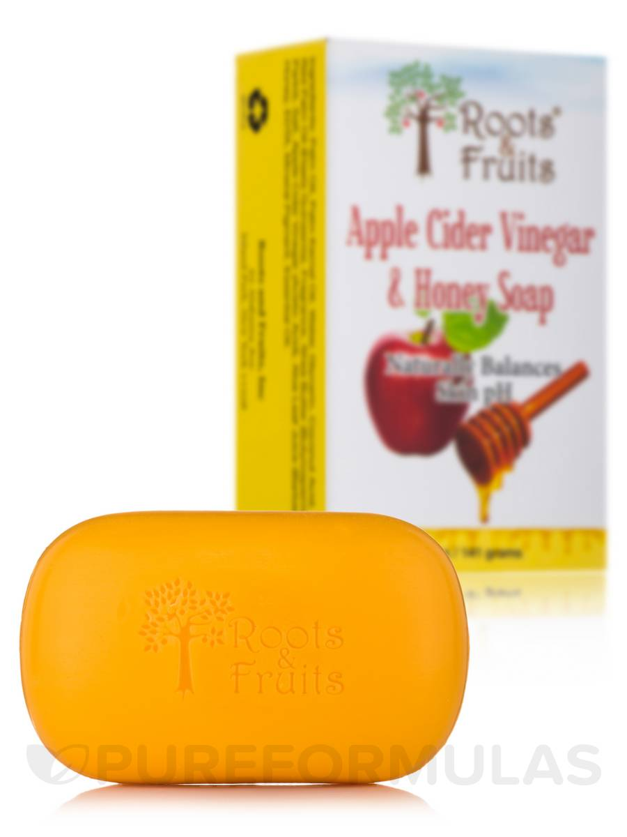 Apple Cider Vinegar and Honey Soap Bar - 5 oz (141 Grams)