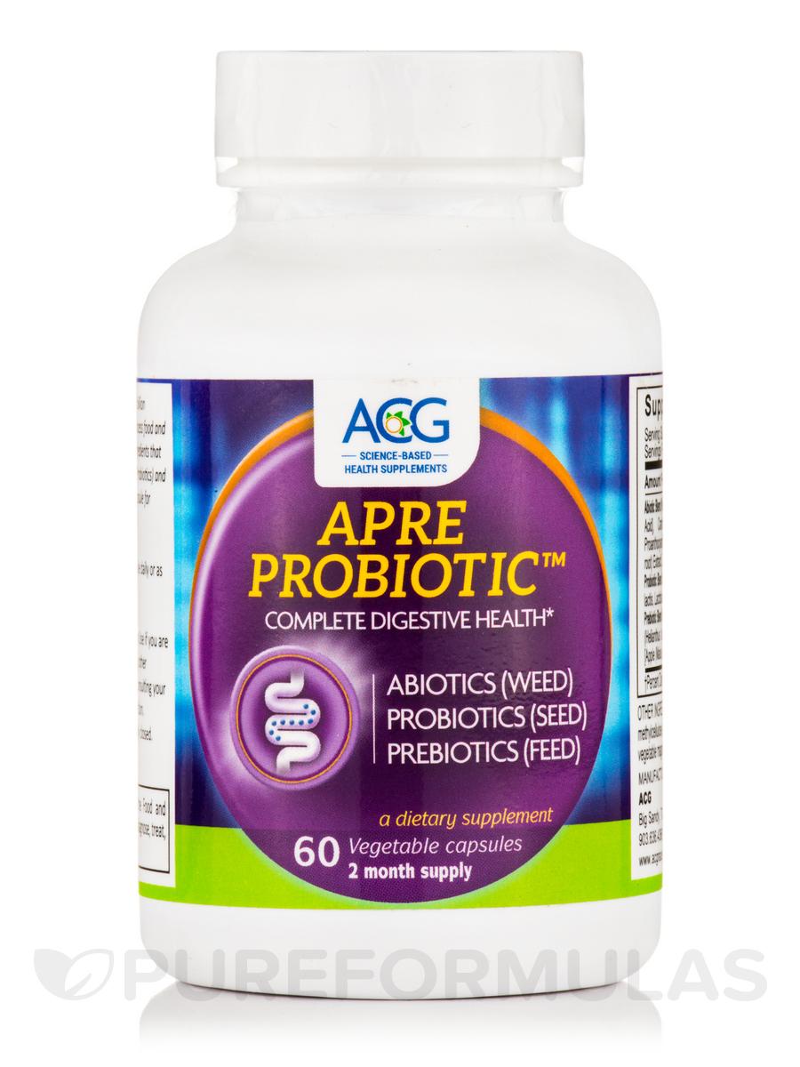 APRE Probiotic™ - 60 Vegetable Capsules