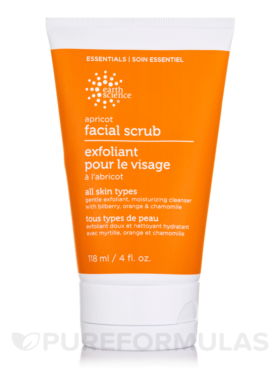 Apricot Gentle Facial Scrub Cream - 4 fl. oz (118 ml)