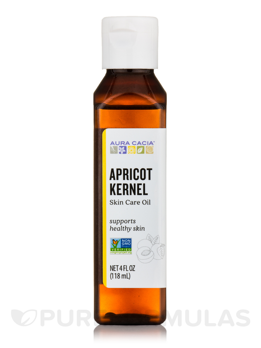 Apricot Kernel Natural Skin Care Oil with Vitamin E - 4 fl. oz (118 ml)