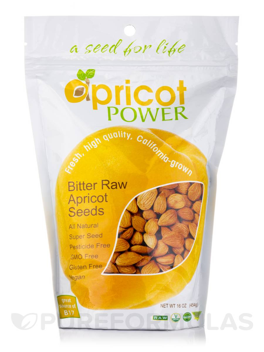 Bitter Raw Apricot Seeds - 16 oz (454 Grams)