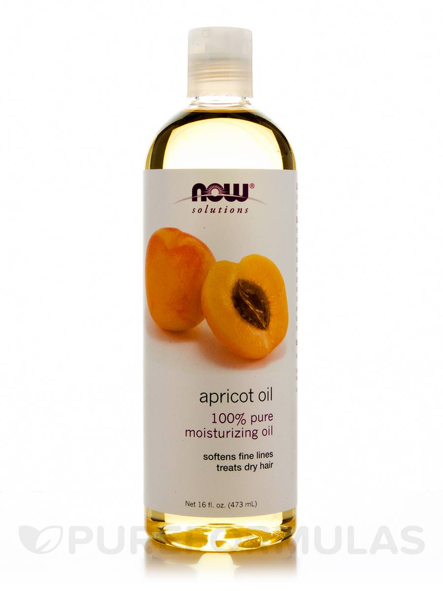 NOW® Solutions - Apricot Oil - 16 fl. oz (473 ml)