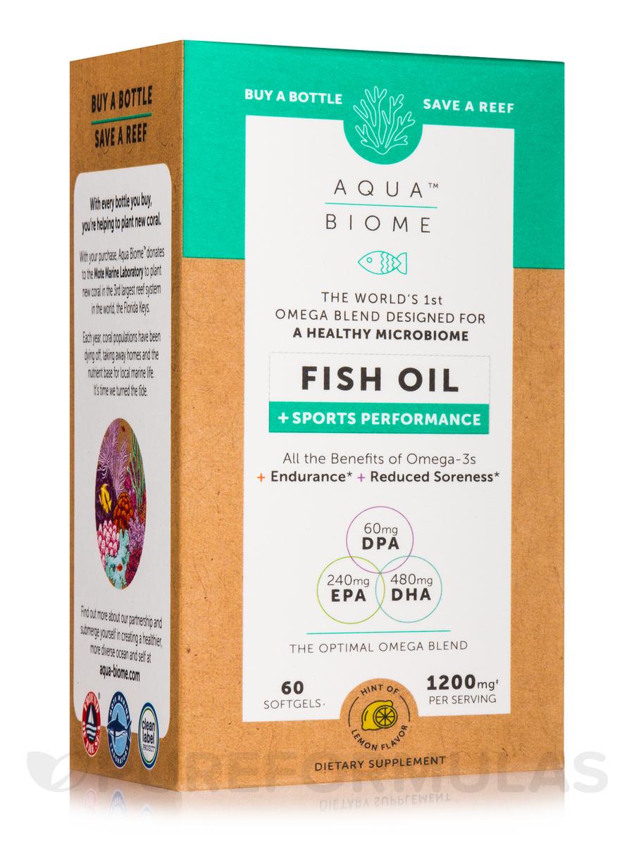 Aqua Biome™ Fish Oil + Sports Performance - 60 Softgels