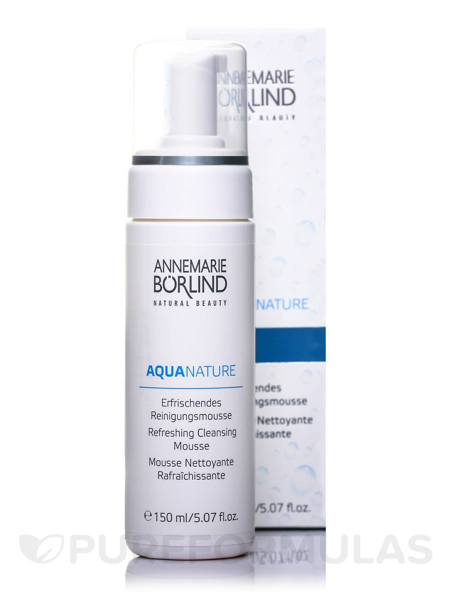 AquaNature Refreshing Cleansing Mousse - 5.07 fl. oz (150 ml)