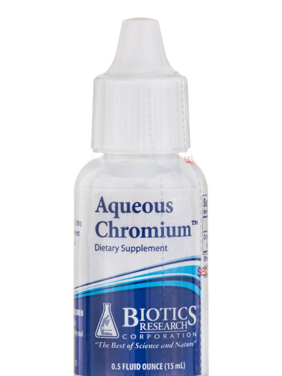 Aqueous Chromium™ - 0.5 fl. oz (15 ml)