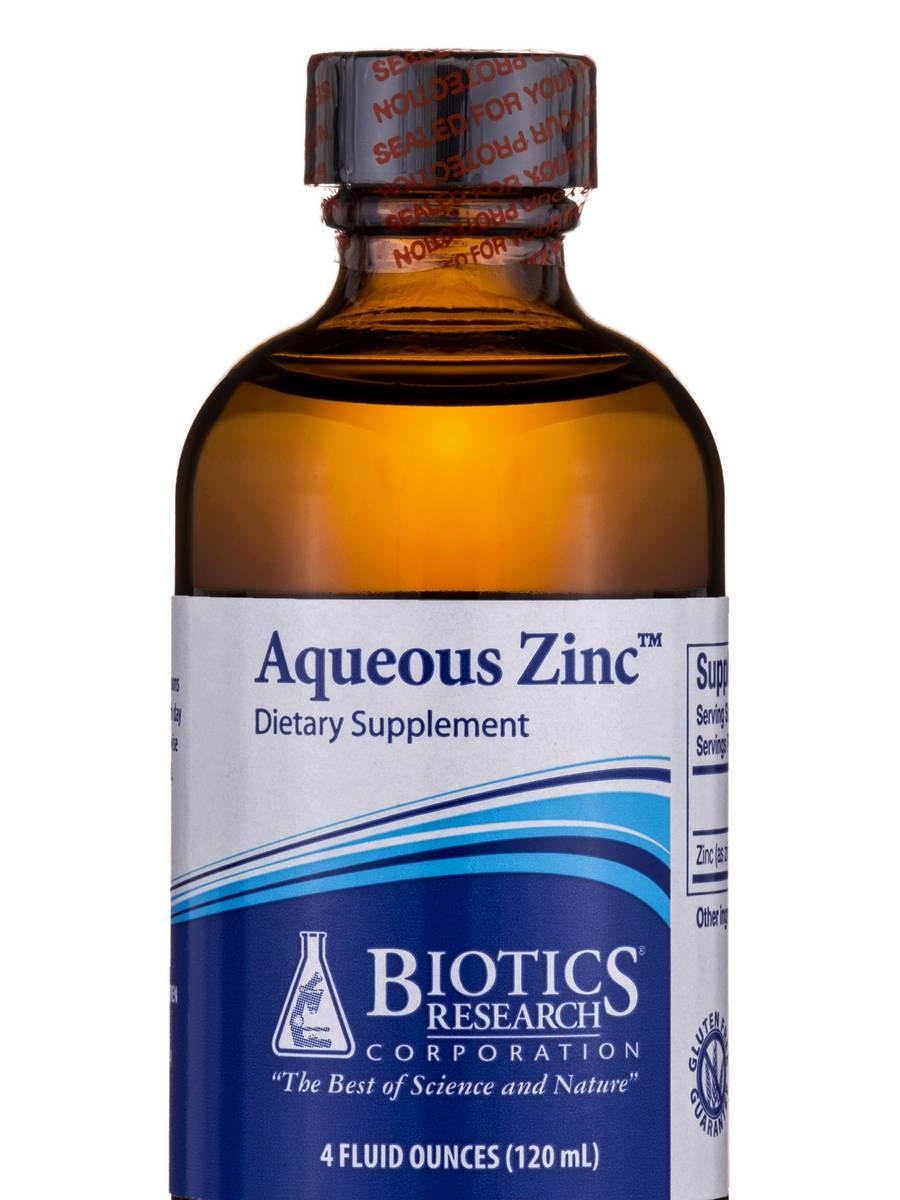 Aqueous Zinc - 4 fl. oz (120 ml)
