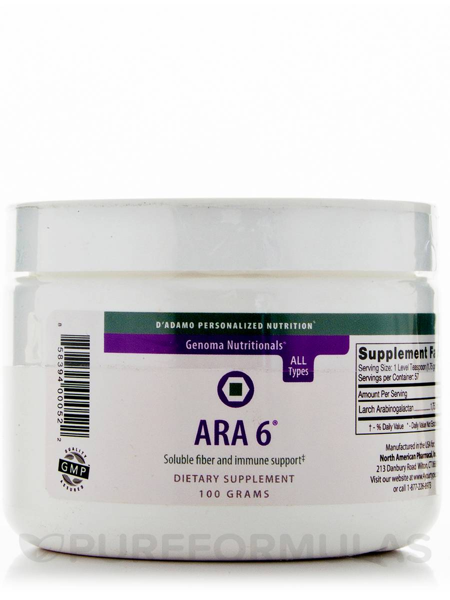 ARA 6 (Pure Larch Powder) - 100 Grams