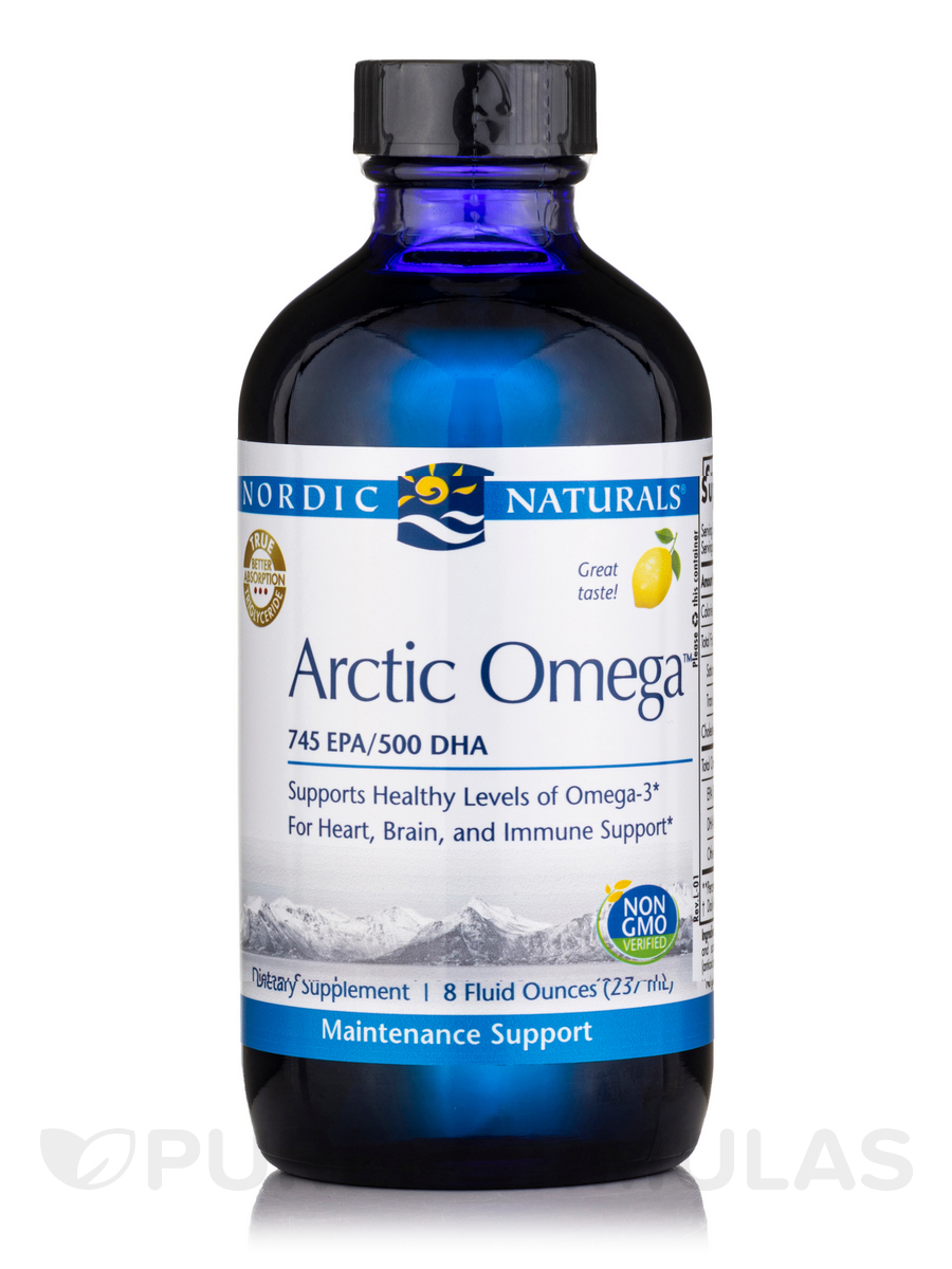 Arctic™ Omega, Lemon Flavor - 8 fl. oz (237 ml)