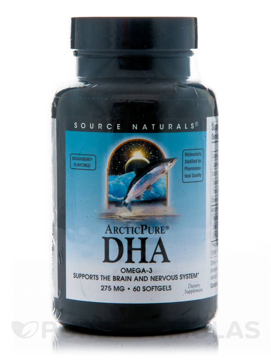 ArcticPure DHA 275 mg - 60 Softgels