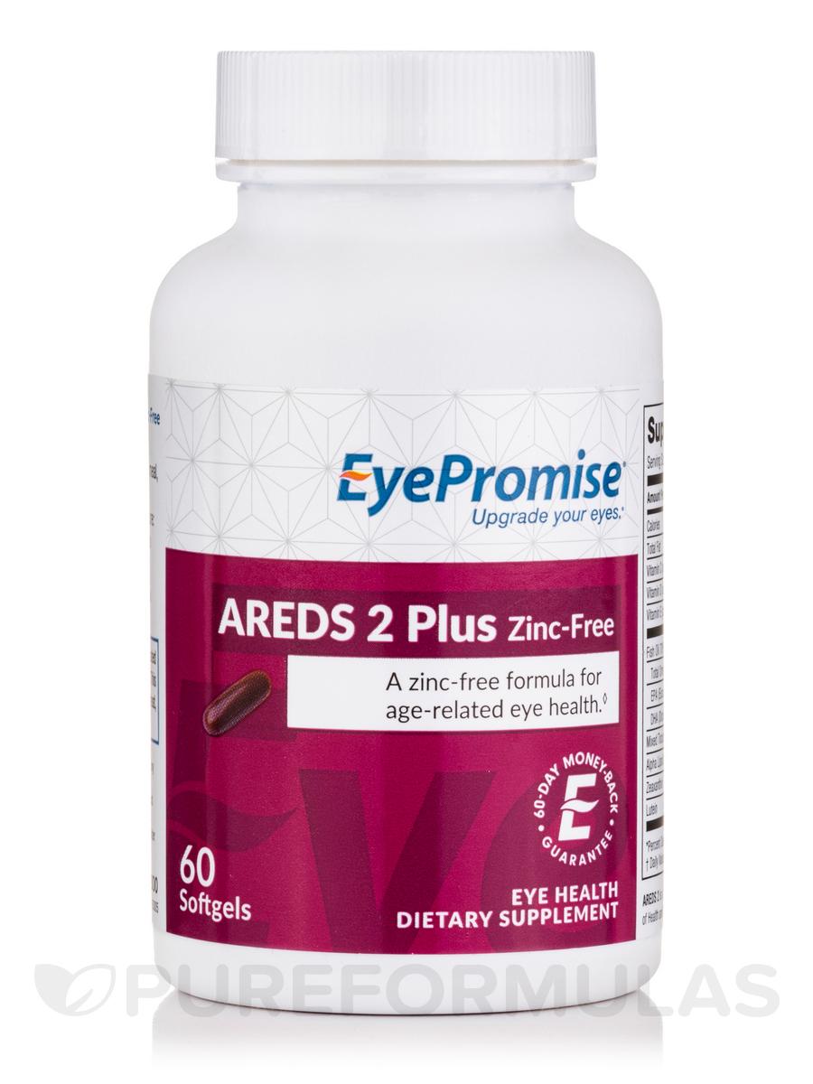 AREDS 2 Plus Zinc-Free - 60 Softgels