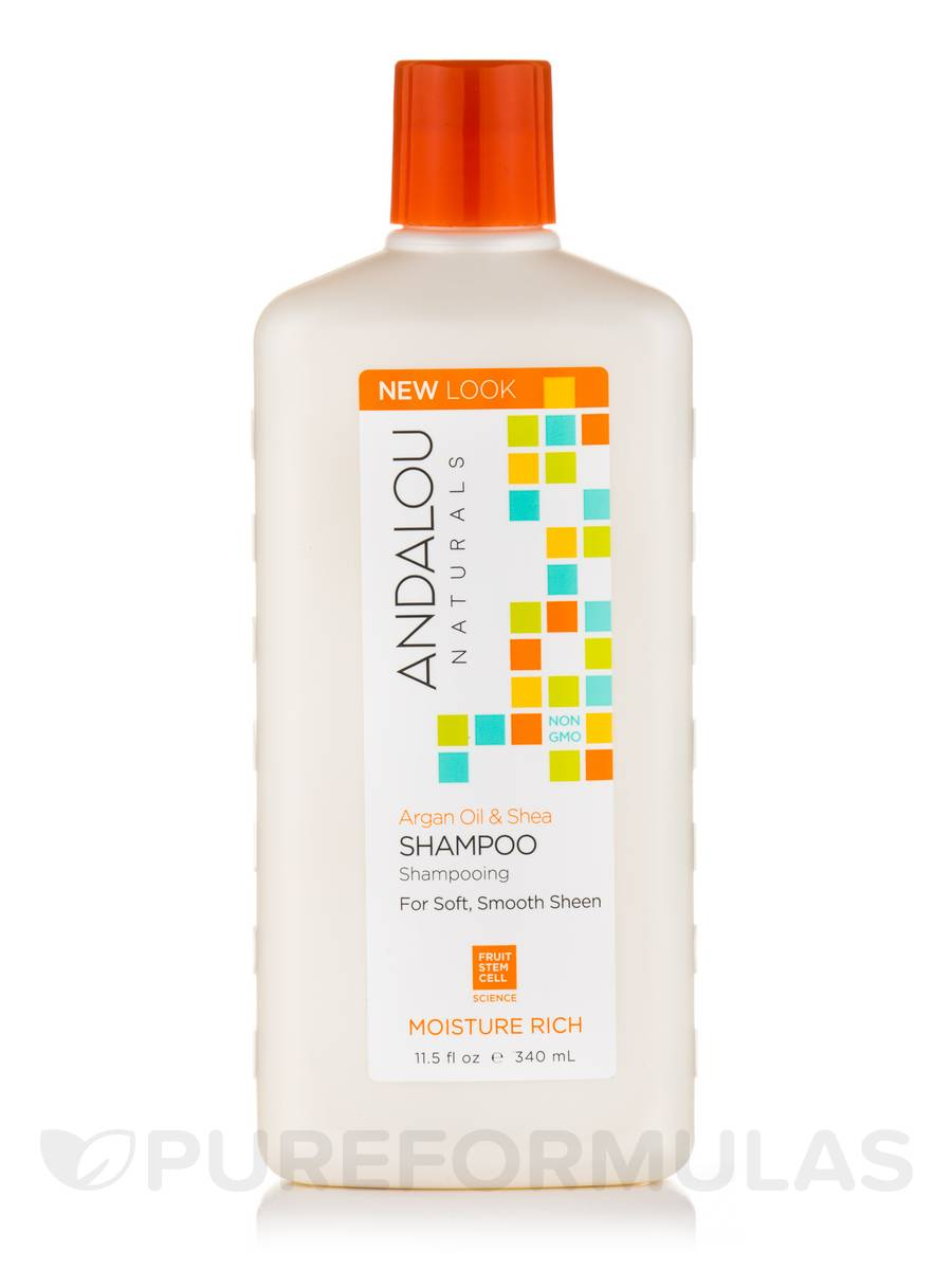 Argan Oil & Shea Moisture Rich Shampoo - 11.5 fl. oz (340 ml)