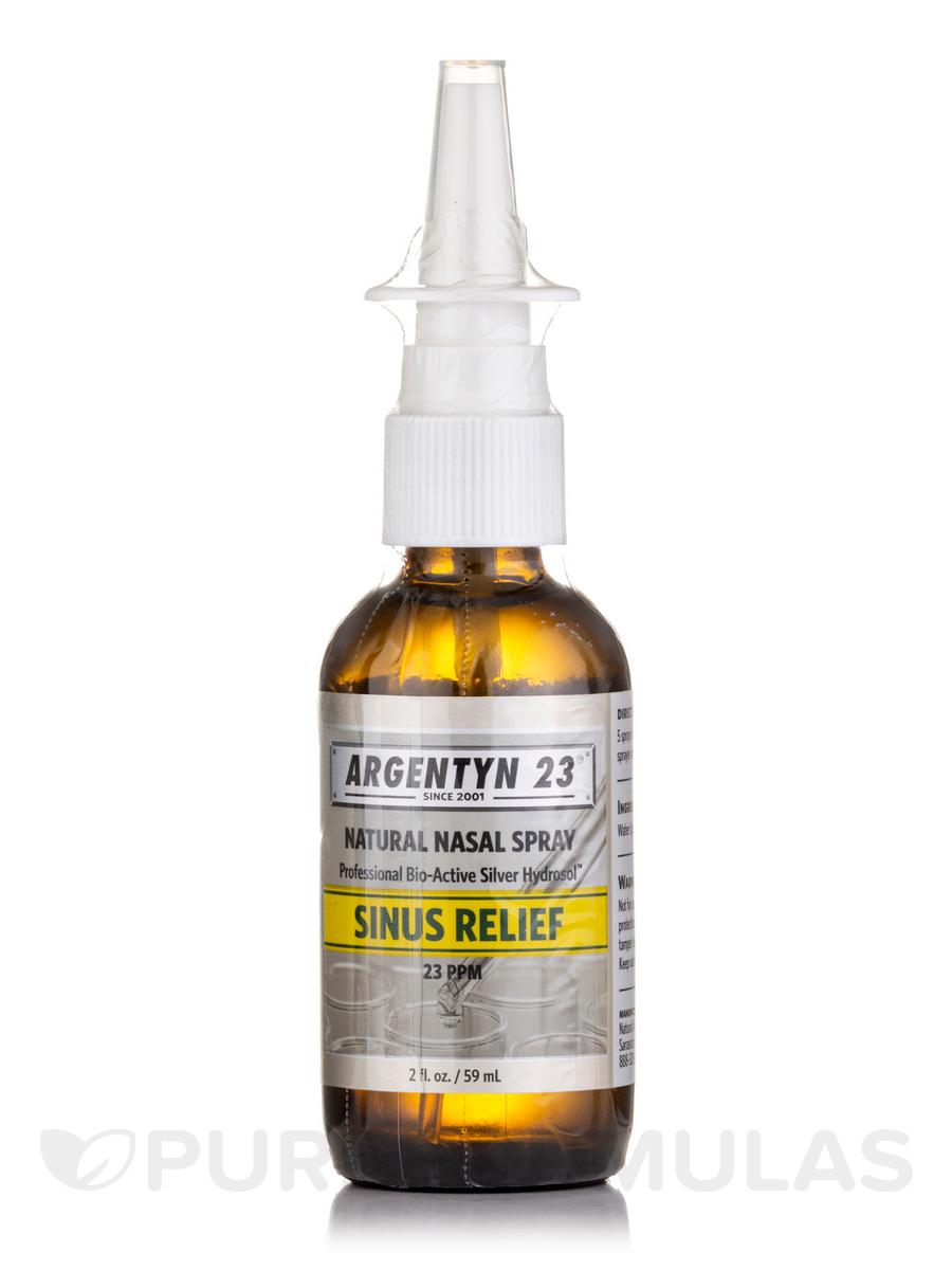 Professional Bio-Active Silver Hydrosol Vertical Spray, 23 ppm - 2 fl. oz (59 ml)