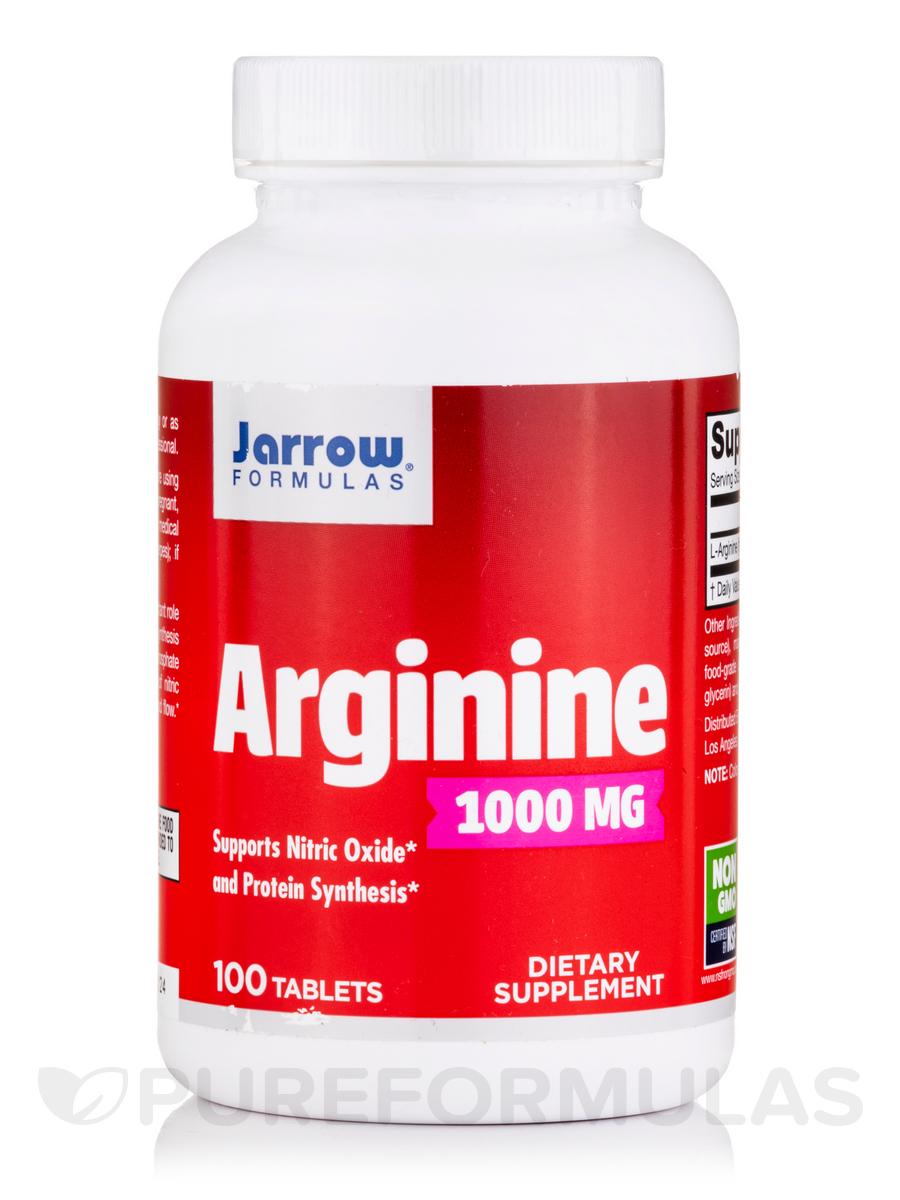 Arginine 1000 mg - 100 Tablets