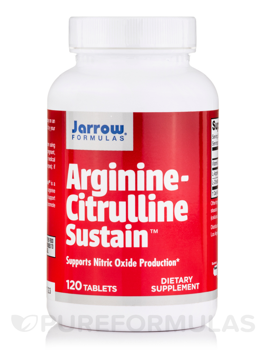 Arginine-Citrulline Sustain™ - 120 Tablets