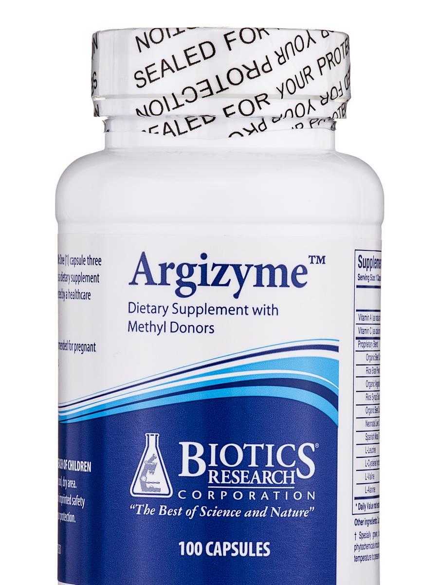 Argizyme - 100 Capsules