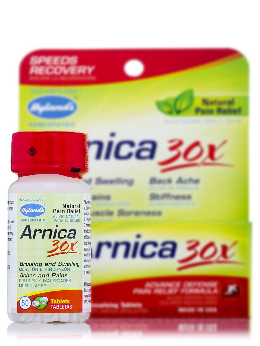 Arnica 30x - 50 Tablets