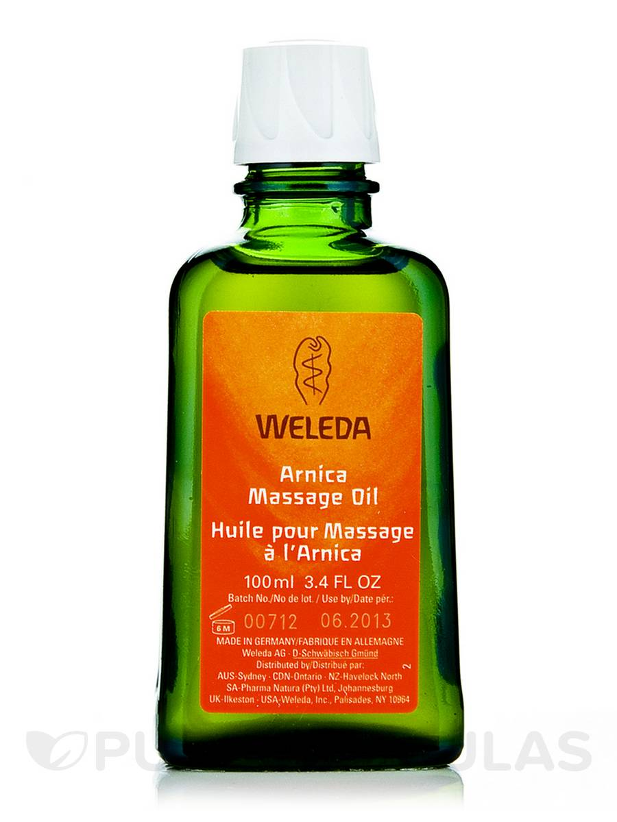 Arnica Massage Oil - 3.4 fl. oz (100 ml)