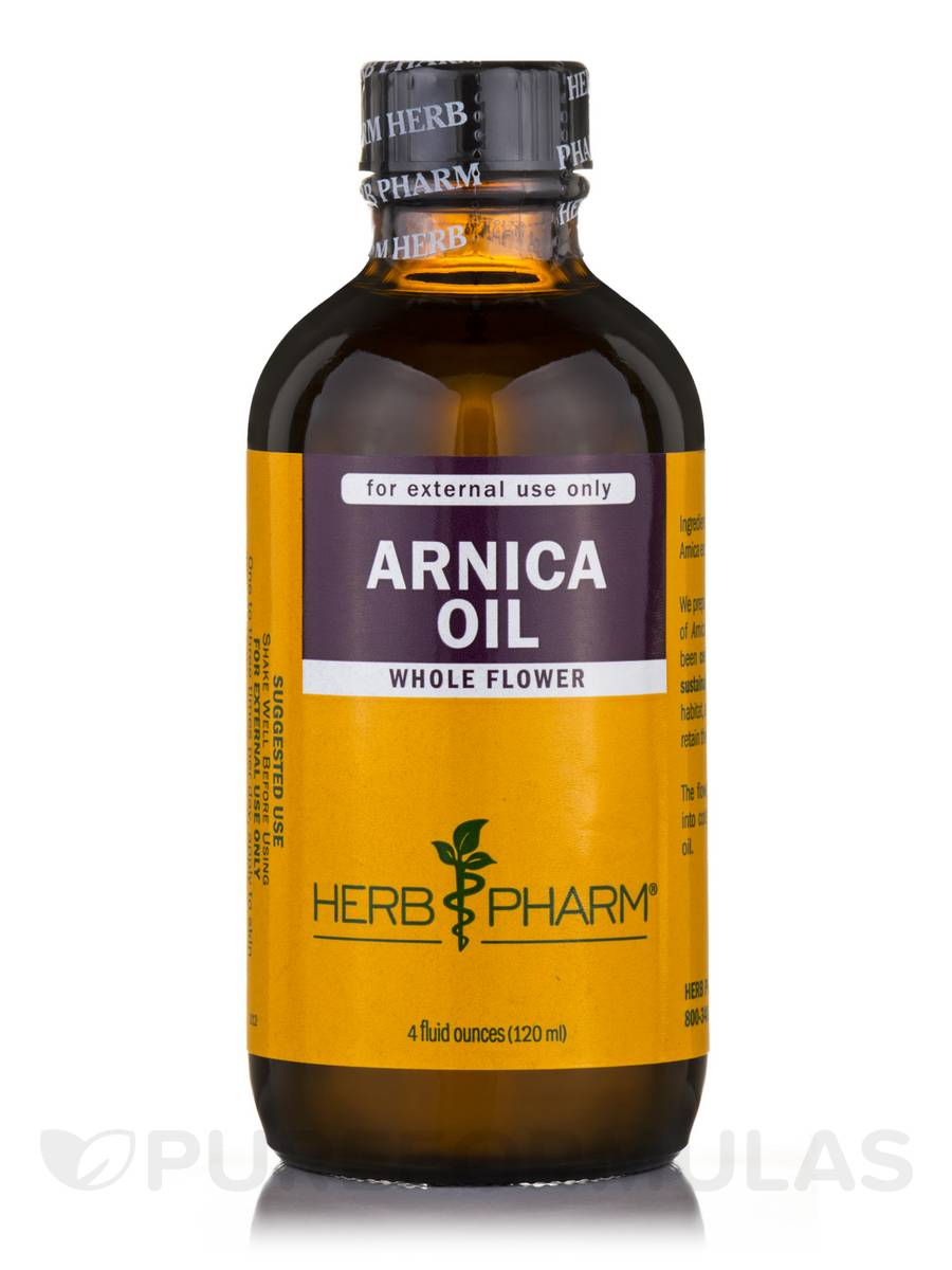 Arnica Oil - 4 fl. oz (120 ml)