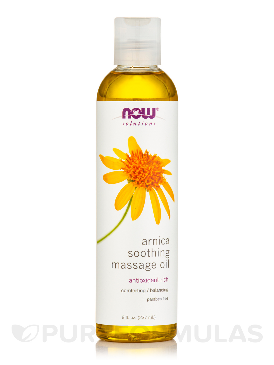 NOW® Solutions - Arnica Warming Relief Oil - 8 fl. oz (237 ml)