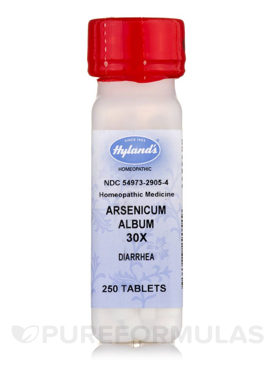 Arsenicum Album 30X - 250 Tablets