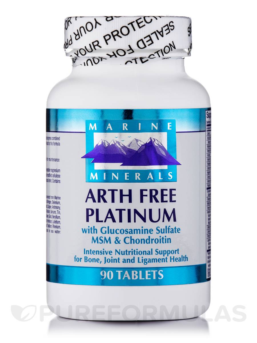 Arth-Free Platinum with Glucosamine Sulfate MSM & Chondroitin - 90 Tablets