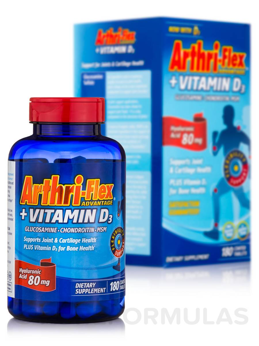 Arthri-Flex® Advantage + Vitamin D3 - 180 Coated Tablets
