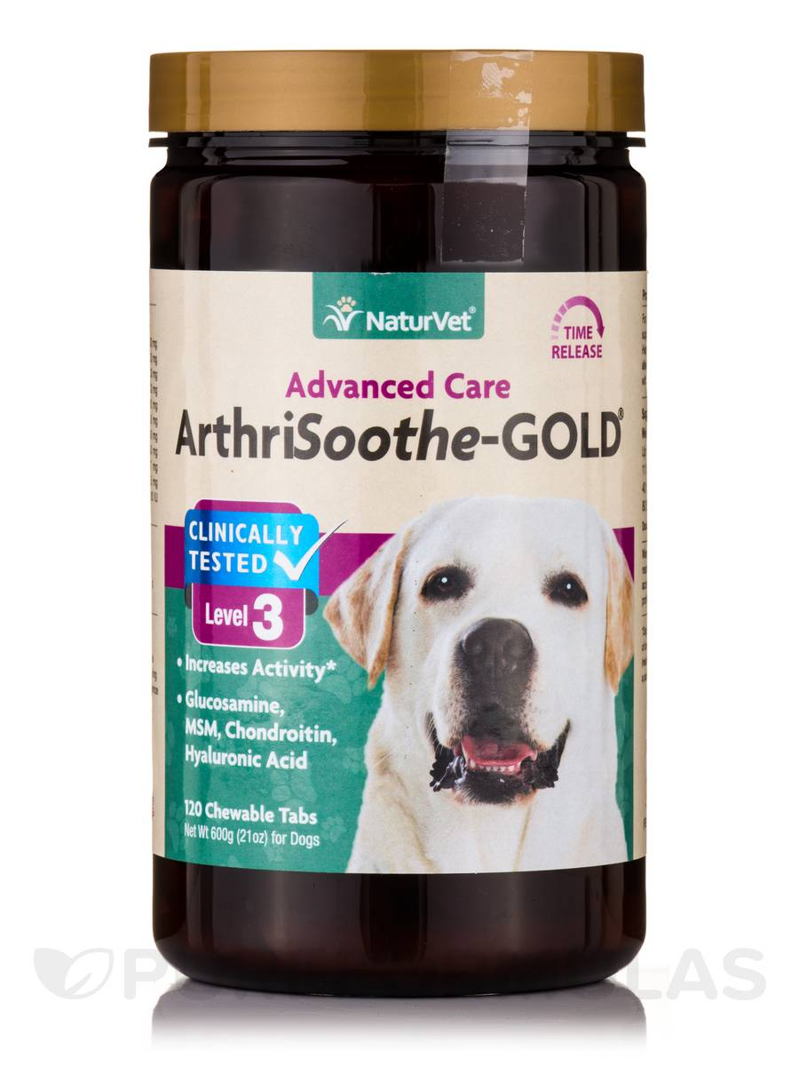 ArthriSoothe GOLD® Tablets - Time Release - 120 Chewable Tablets